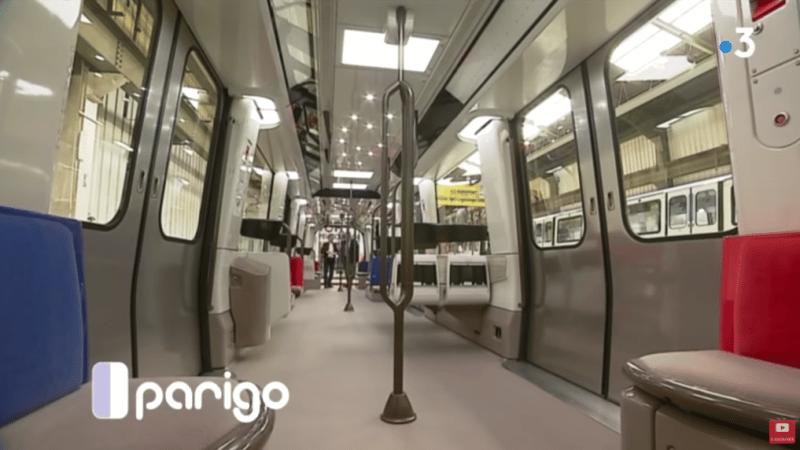 Paris : Des nouveaux métros spacieux et silencieux
