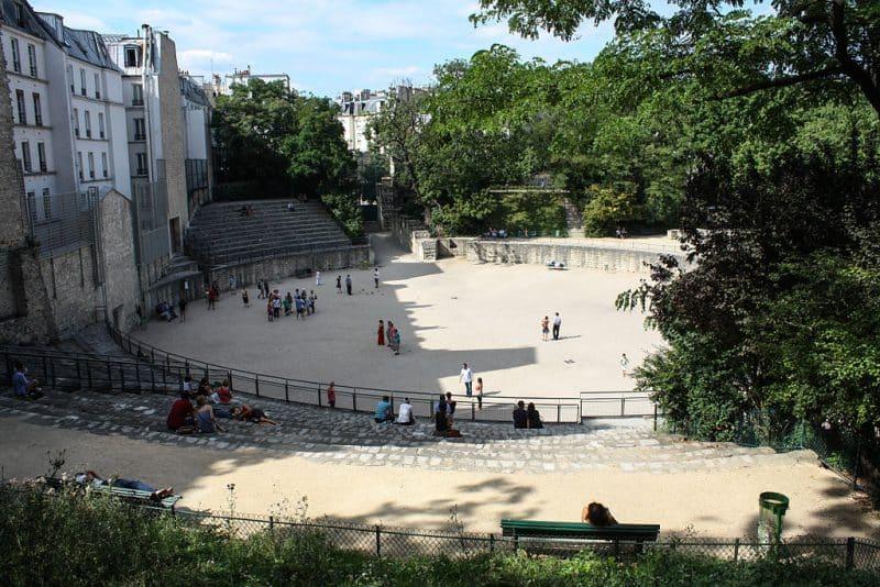 Arenes de lutece paris