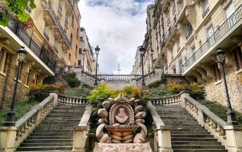 Le lieu bien gardé : le sublime escalier de l'avenue de Camoëns