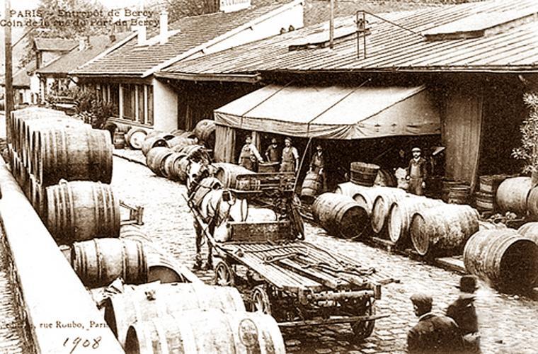 Entrepot Bercy 1908