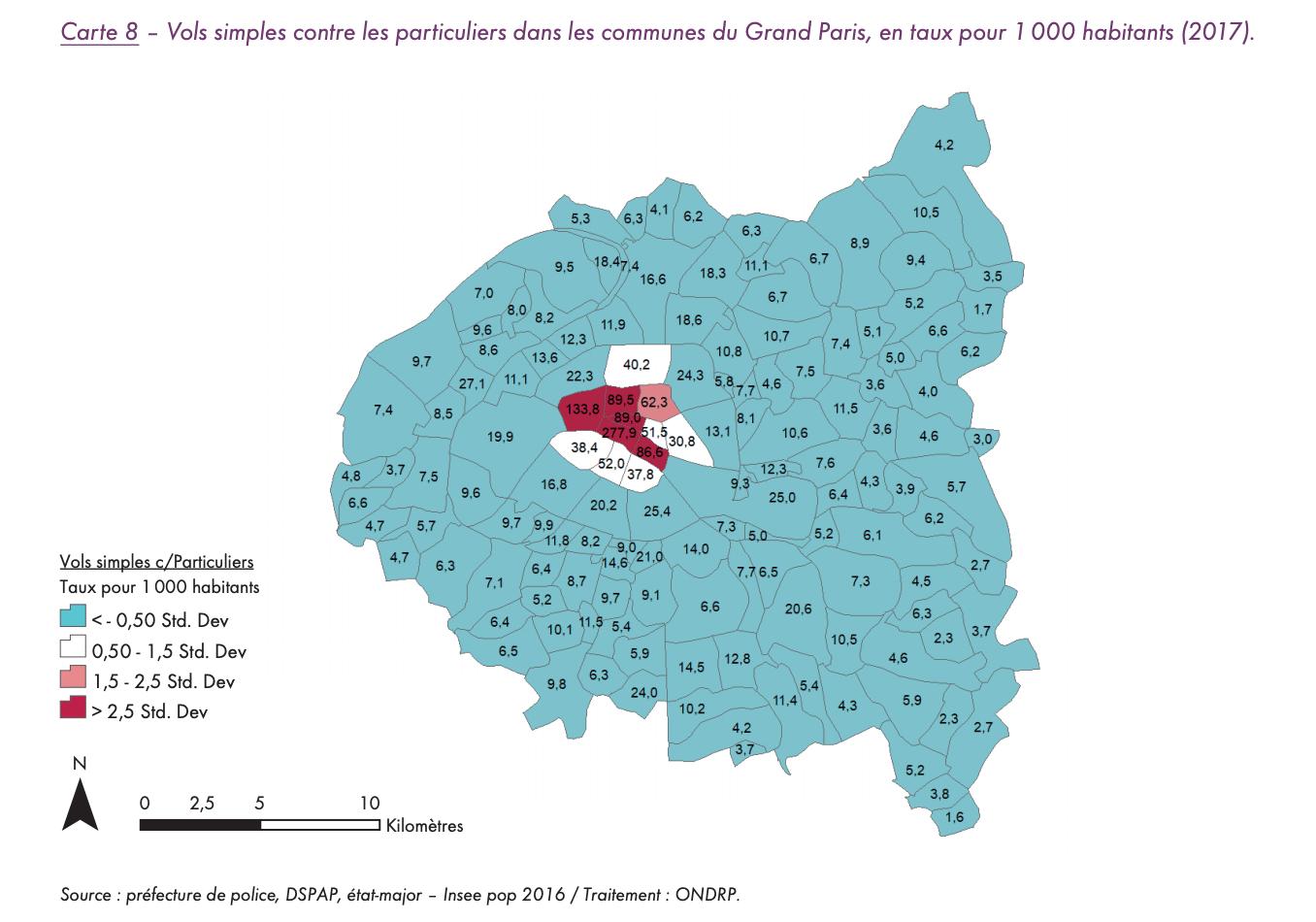 Grand Paris : les chiffres de la criminalité | Vivre Paris