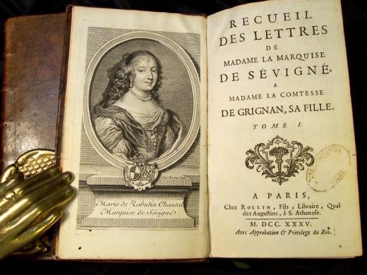Madame de Sevigne oeuvre