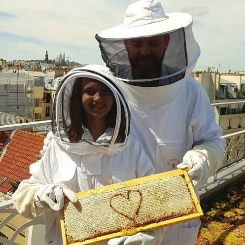 Paris fete miel et abeille