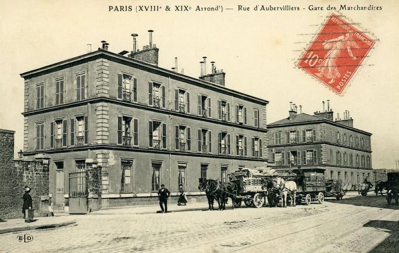 Paris rue Aubervilliers gare