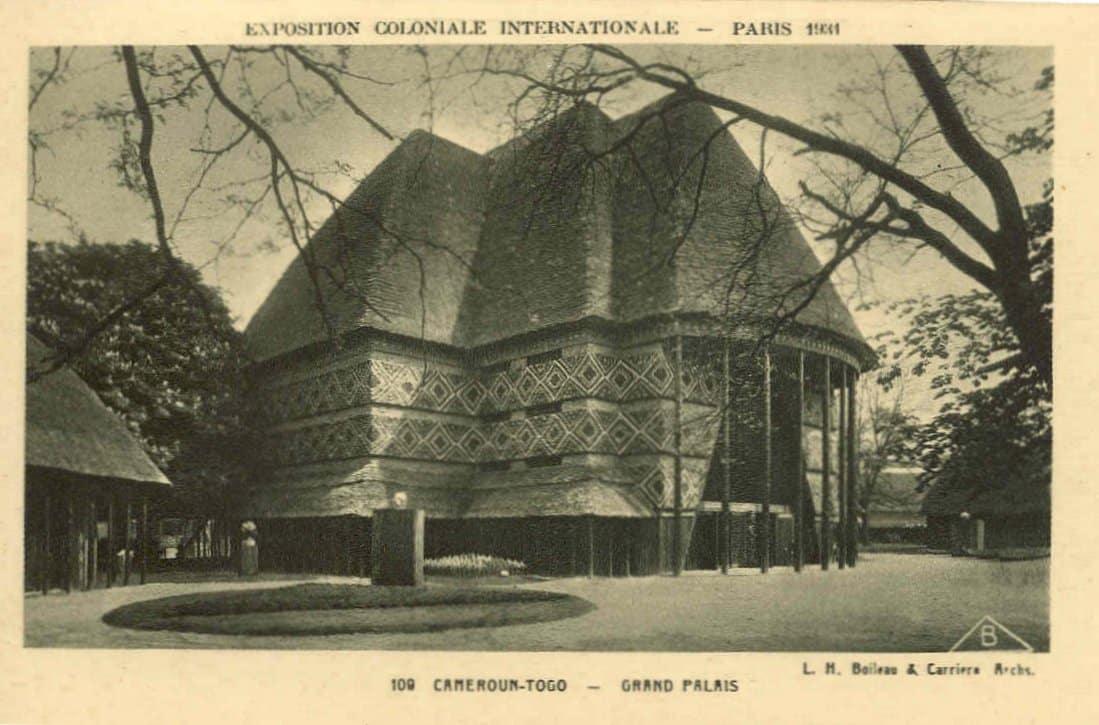Pavillon Cameroun et Togo Vincennes