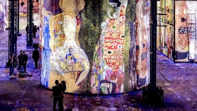 Soirees Klimt atelier des Lumieres