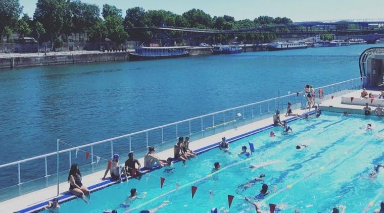 piscine exterieure Paris