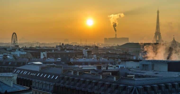 pollution canicule paris