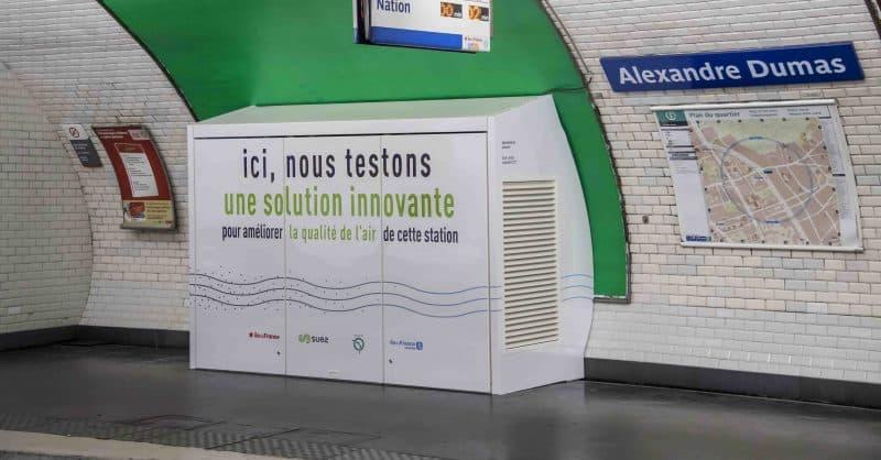 Opération Qualite de l'Air station Alexandre Dumas