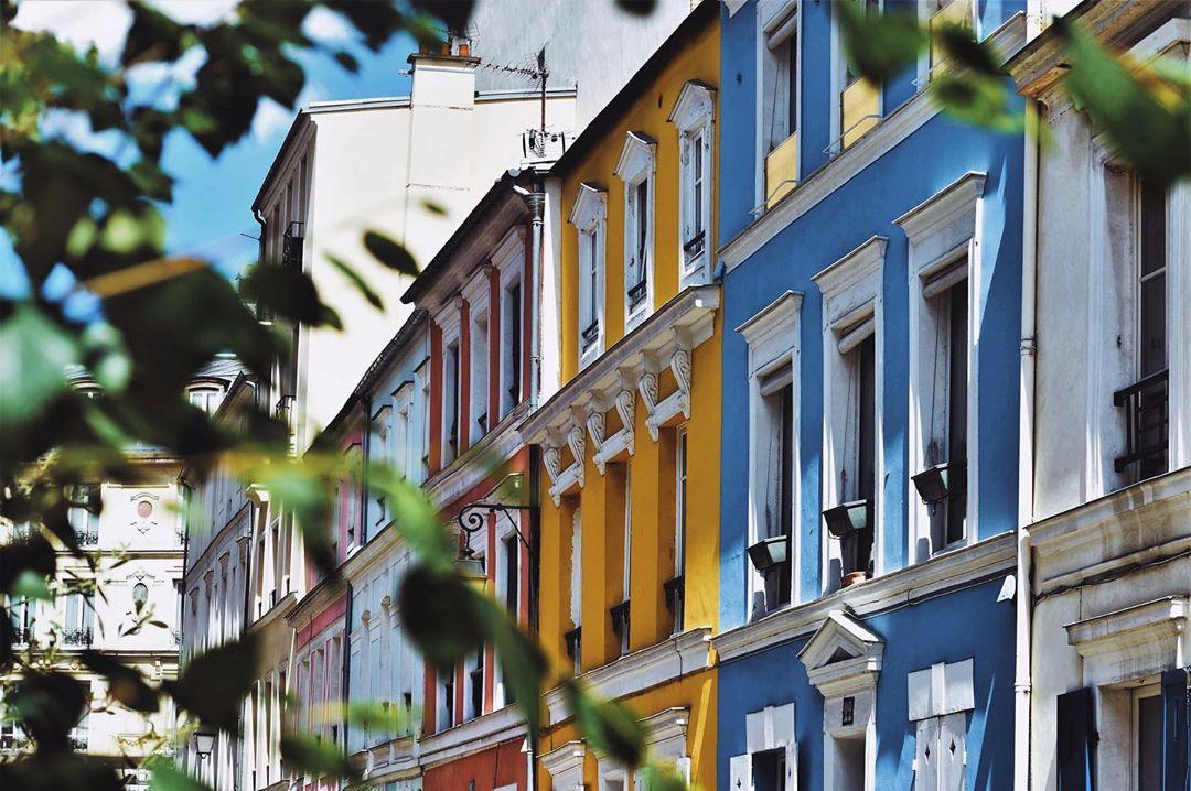 rue couleur paris