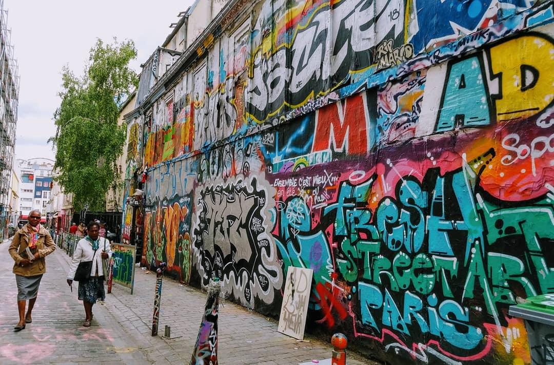 rue plus coloree de paris