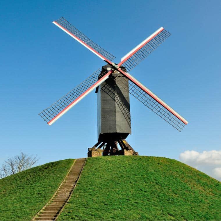 Moulin a vent Bruges