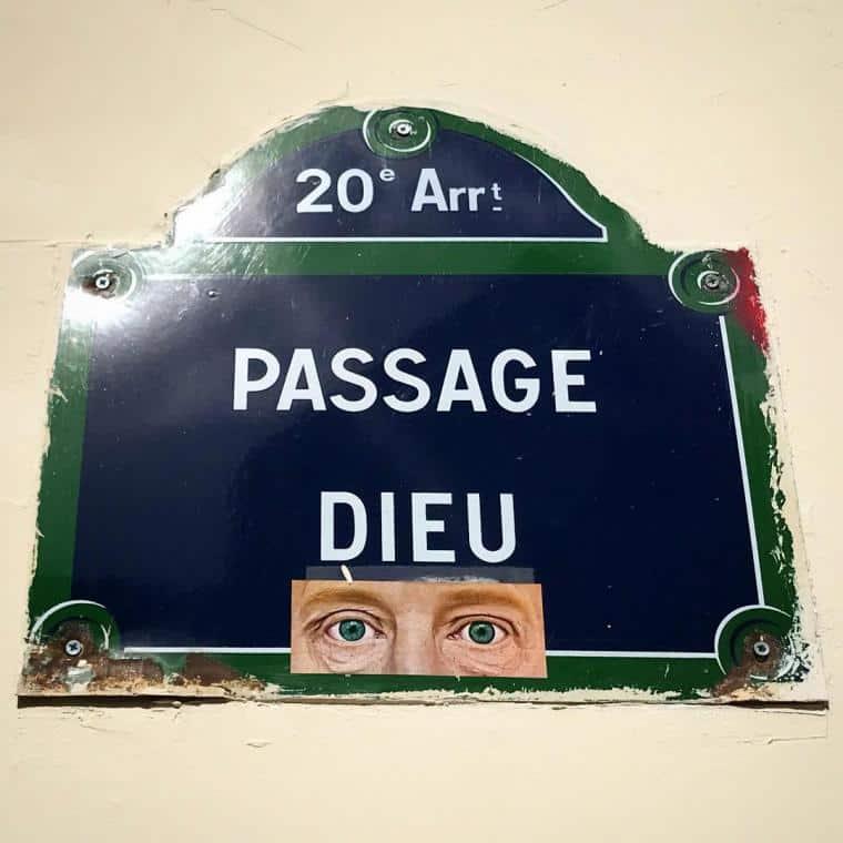 Passage dieu Paris