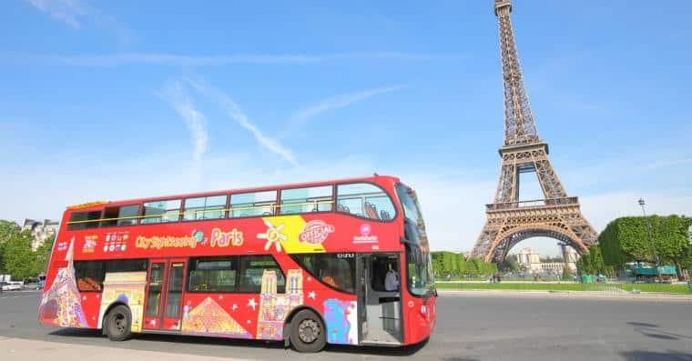 bus touristique paris