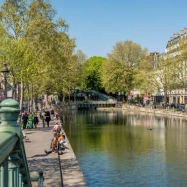 canal st martin paris 10