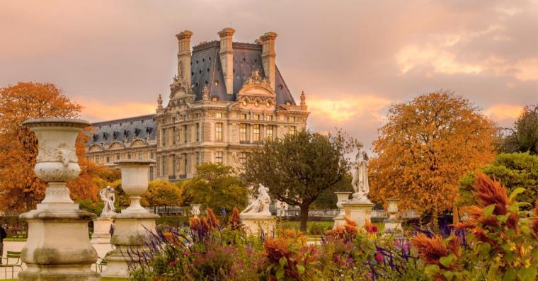 jardin des tuileries louvre