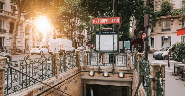 metro paris insolite