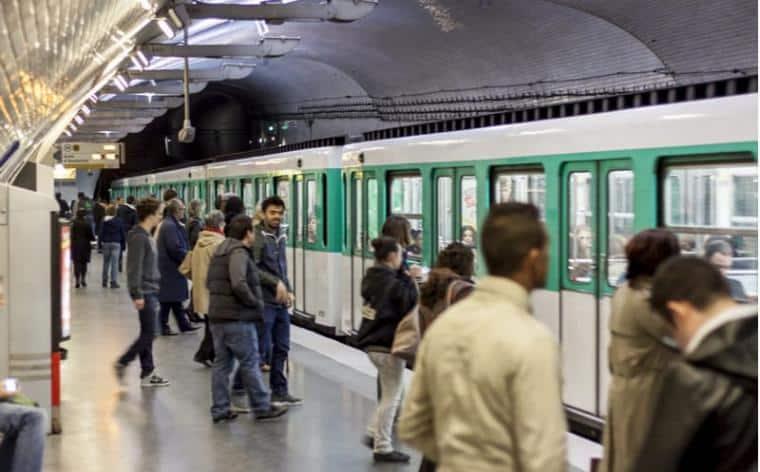paris metro monde