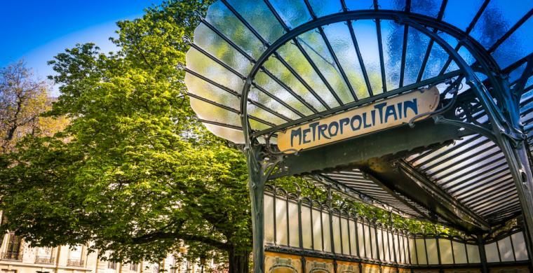 visite art nouveau paris métro guimard