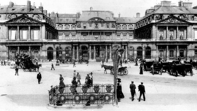 Metro histoire Paris