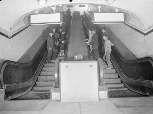 escalator metro histoire