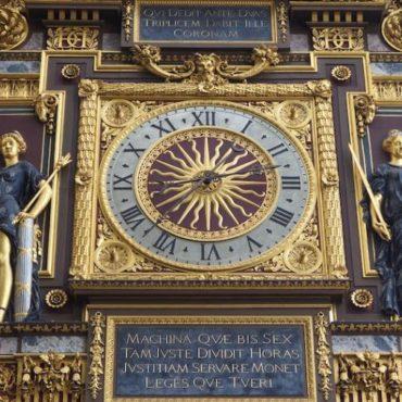 L'horloge de l'île de la Cité