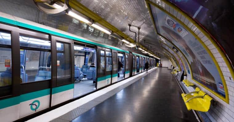 metro paris gratuit
