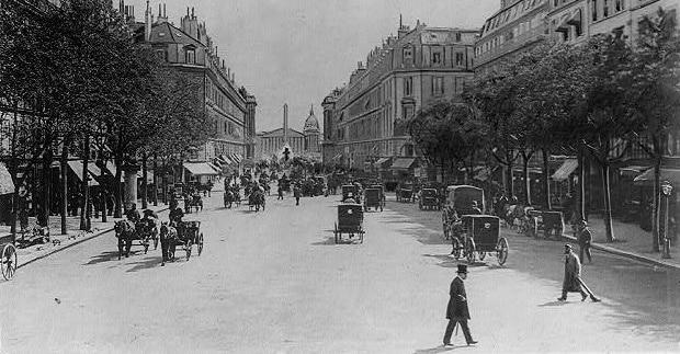 Des rues de Paris métamorphosées comme en 1900 !
