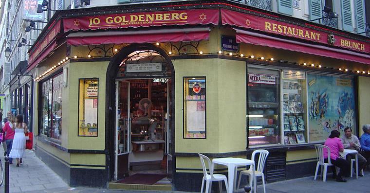 restaurant goldenberg rue des rosiers