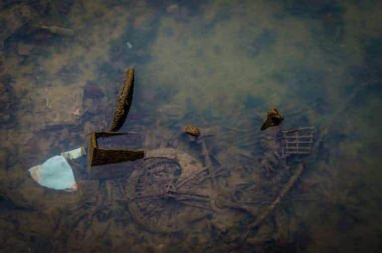 Les pires trucs retrouvés dans le canal Saint-Martin