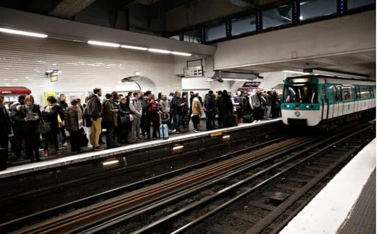 greve paris 17 decembre