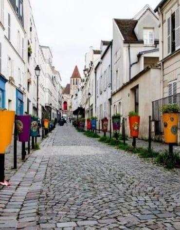 village charonne visite paris