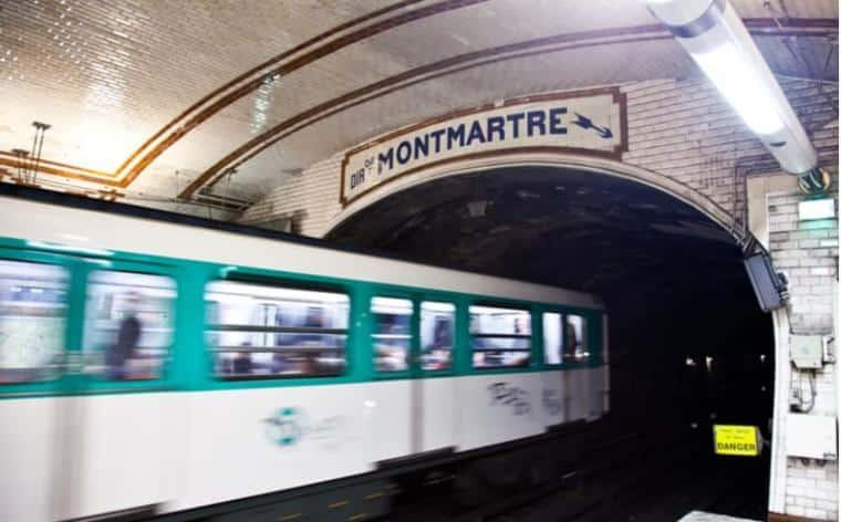 paris metro RATP jeu piste