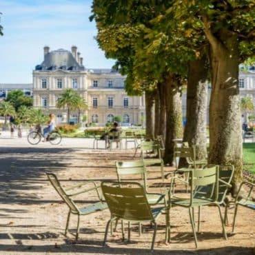 jardins parisiens