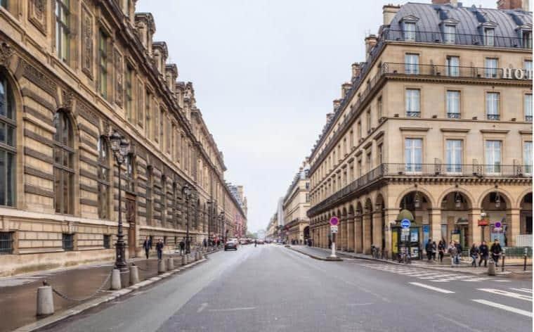 rue de rivoli paris