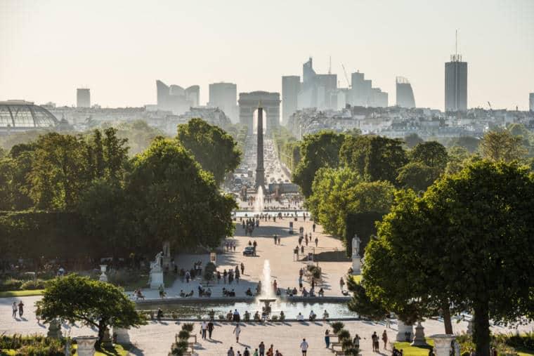 La Grande Allée des Tuileries
