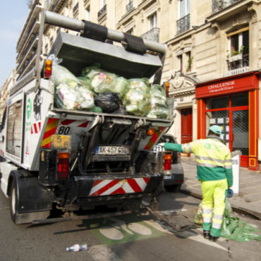 ramassage ordures poubelles paris