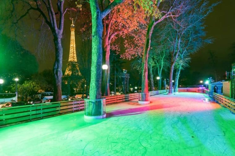 patinoire ephemere paris