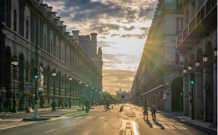 rue de rivoli coronapistes