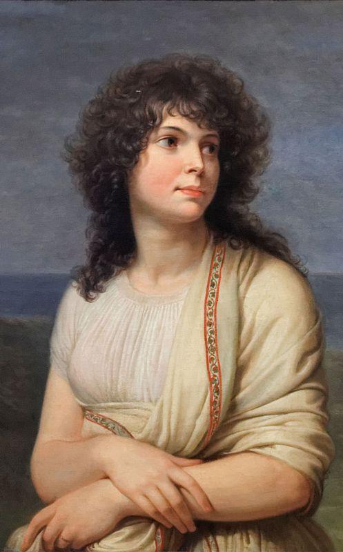 Madame Hamelin par Andrea Appiani Musée Carnavalet