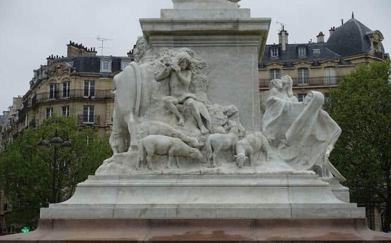Statue Pasteur Paris