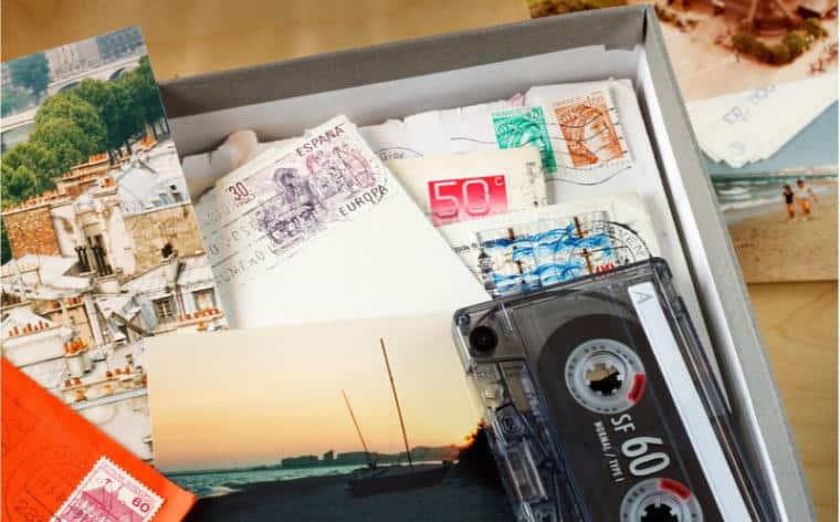 boite lettre souvenir