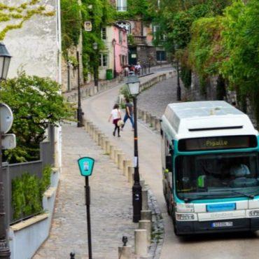bus paris greve ile de france