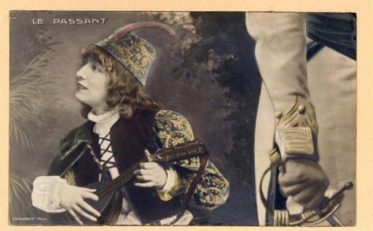 carte postale Sarah Bernhardt