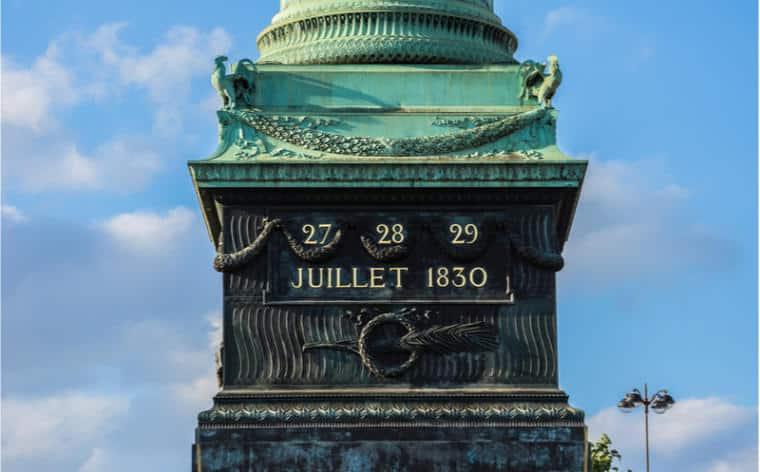 colonne juillet paris bastille