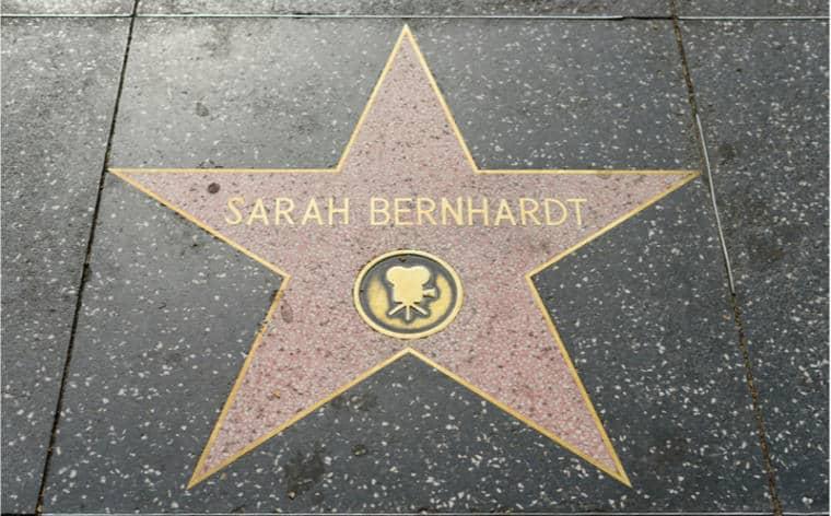 etoile sarah bernhardt L.A