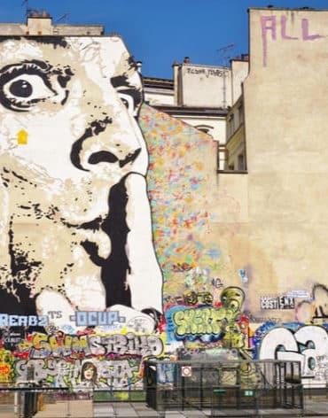 street art paris beaubourg