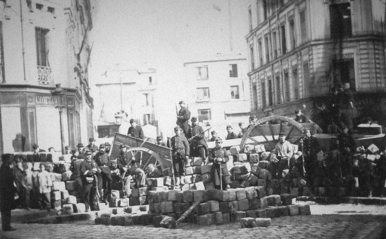 barricade richard lenoir Commune de Paris