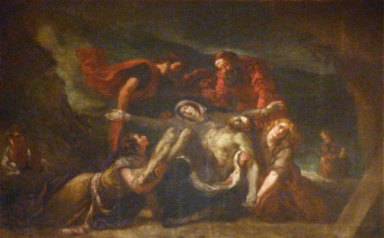 pieta Delacroix saint denys