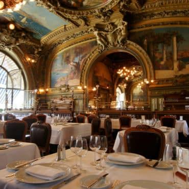 restaurant train bleu paris